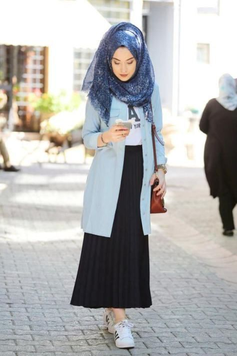 Arabic Style  Stylish Hijab Fashion For Women 2017 / 2018 , FameDubai  Magazine