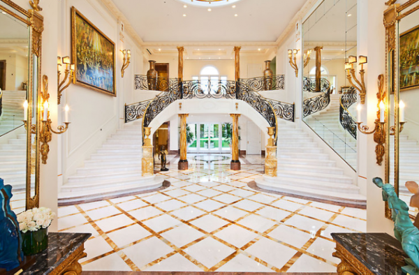 Captivating Inside 55 Million Dollar Mega Mansion In
