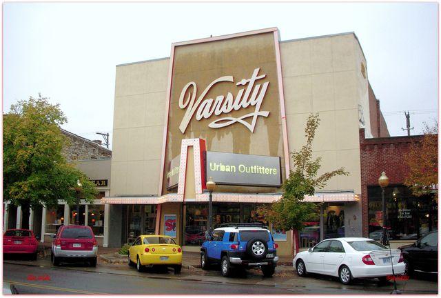 Lawrence Ks Varsity Theater Across The Street From The Granada