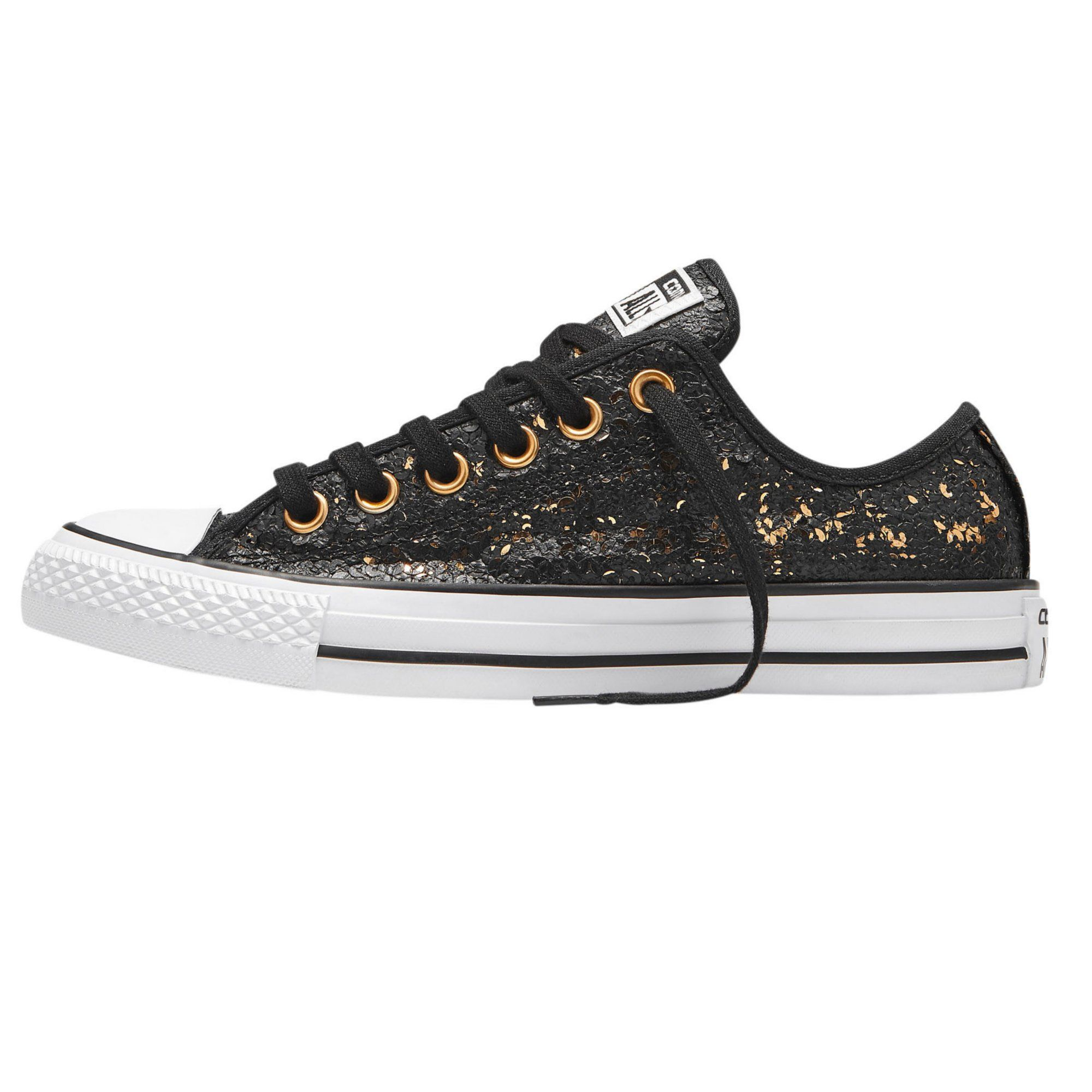 4cce84c80f8 Converse CT All Star Sequins basket basse à lacets strass femme - 3Suisses