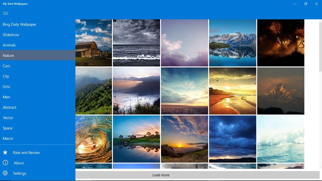 Slideshow Wallpaper For Windows 10