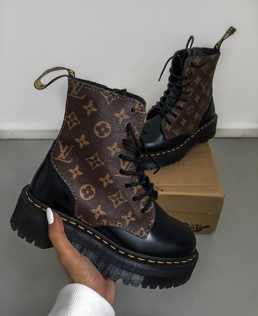 LV X DOC MARTENS | Louis vuitton boots