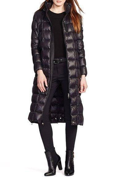 01291925d Lauren+Ralph+Lauren+Packable+Down+Maxi+Coat+with+Detachable+Hood+ ...