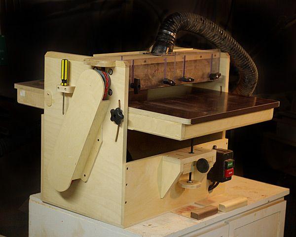 shop built drum sander plans   KRTWOOD - Shop Built Drum Sander Mk2