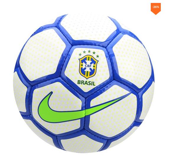 7a45ea0bb4 Bola de Futebol Society Nike CBF - Branco e Azul | Ofertas ...