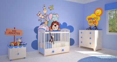 cuartos para bebes varones modernos | Cuartos para bebes ...