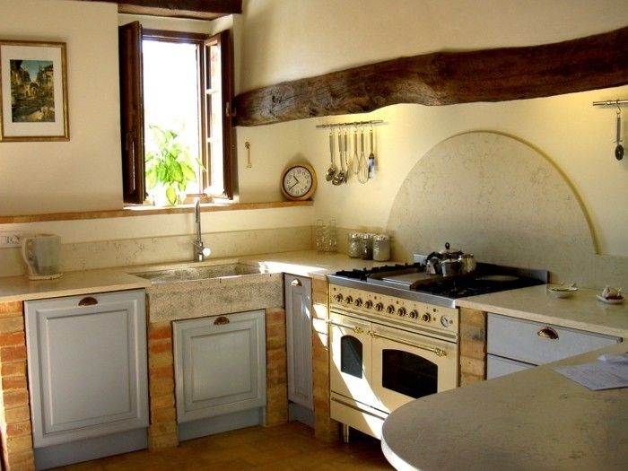 Küche streichen - 60 Vorschläge, wie Sie eine cremefarbige ...