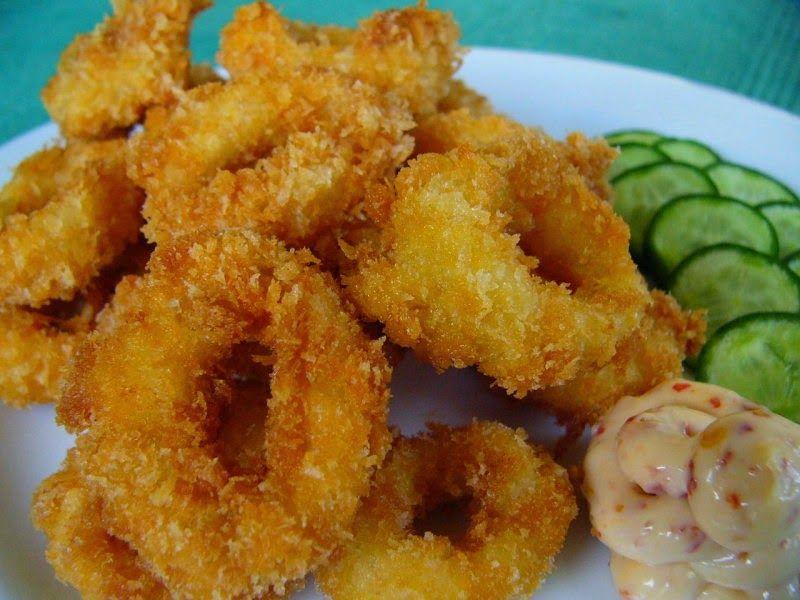 Resep Calamari Ttm Calamari Makanan Resep Makanan
