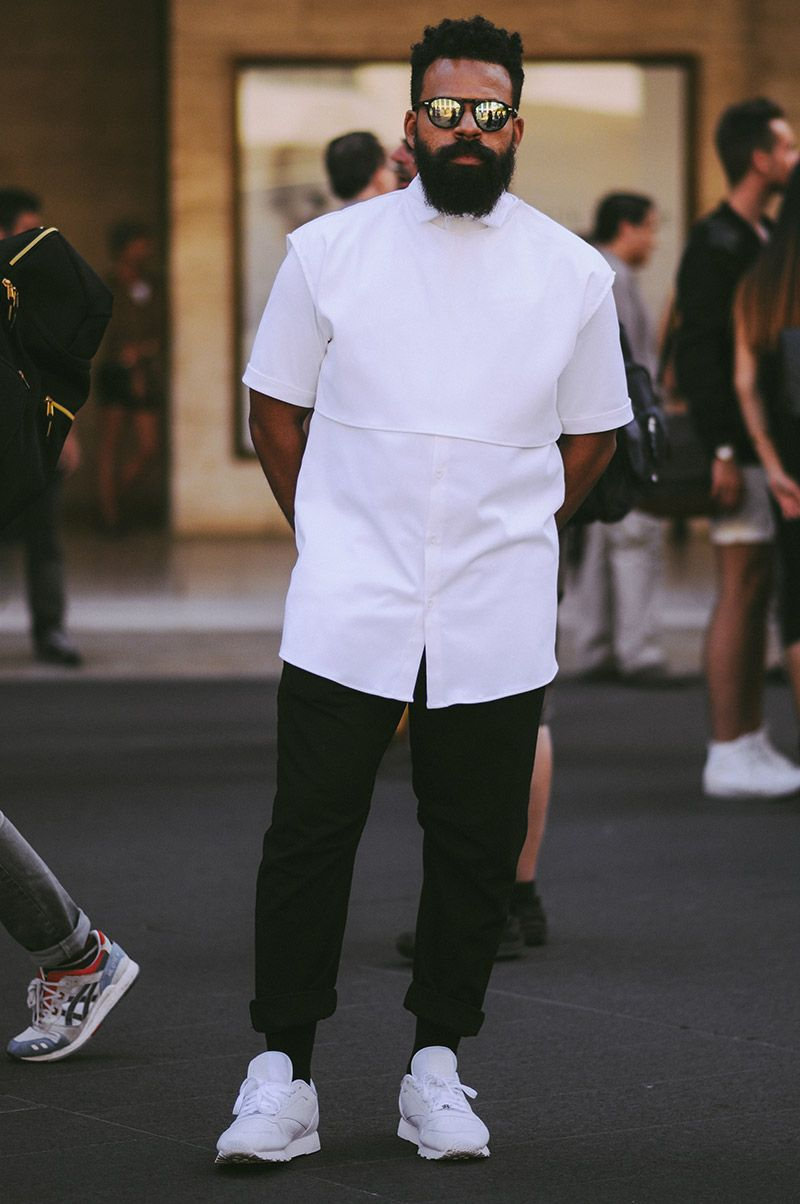 For the third day of New York Fashion Week, Kasheem Daniels bring us some new looks photographed in the streets of New York in exclusive for Fucking Young!