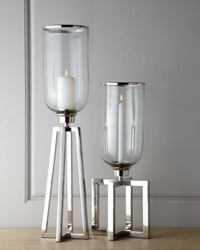 Structured Candle Stands | Candle stand, Candle holders ...
