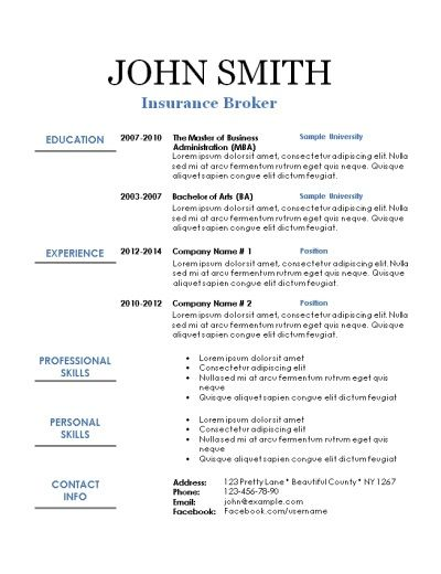 101 Free Printable Resume Templates That Can Be Edited In Word