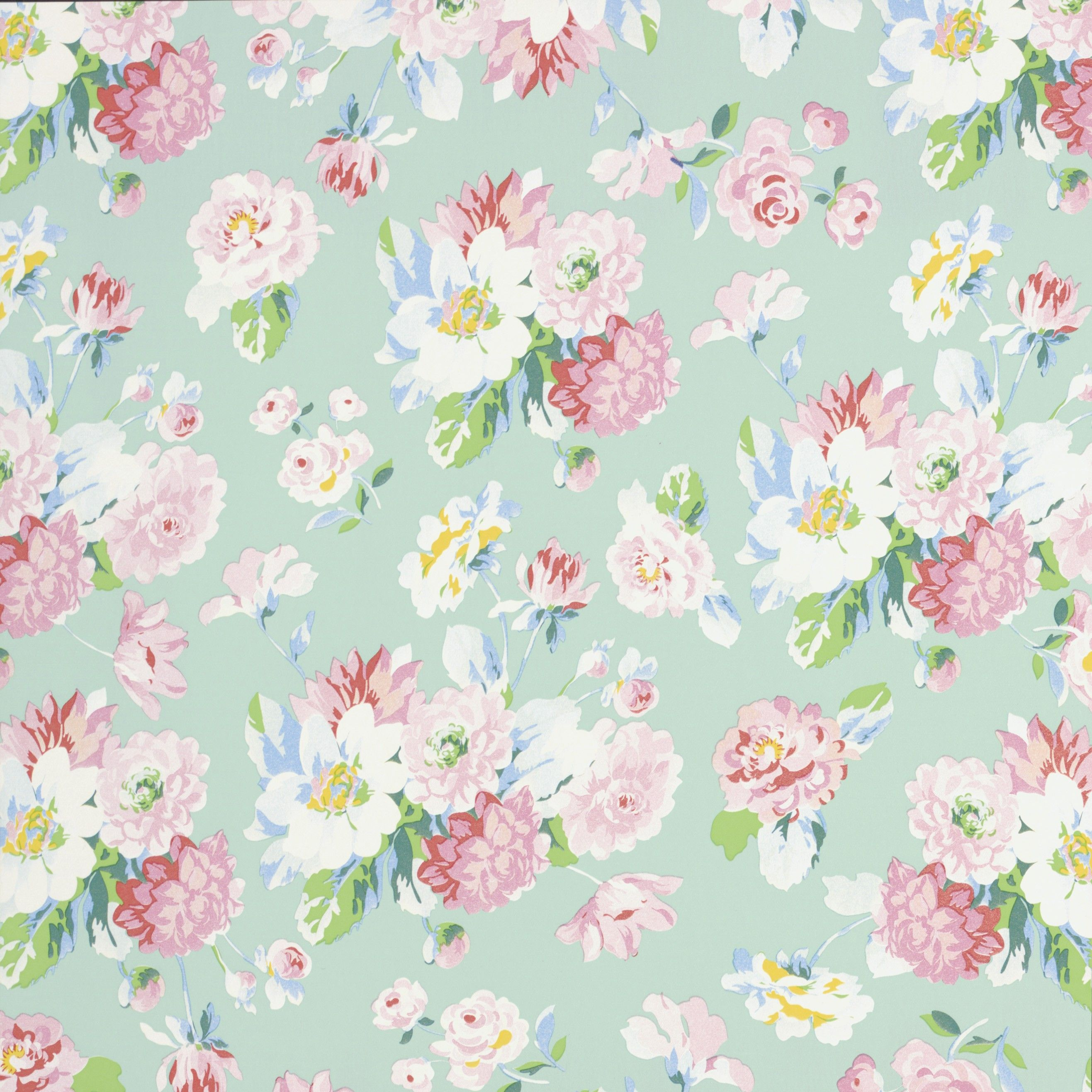 La Vie En Rose Mint Wallpaper 3900026 Iphone Wallpaper Green