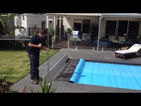 Sunbather Solar Pool Heating And Pool Covers Downunder Hidden Pool Cover Rollers Solar Pool Heating Solar Pool Heater Pool