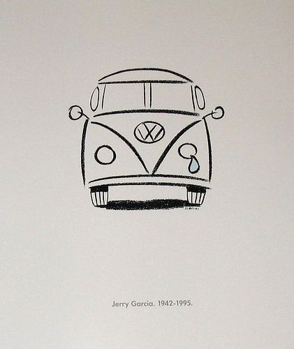 Crying VW Bus for Jerry Garcia | Good Ol\' Grateful Dead | Pinterest ...