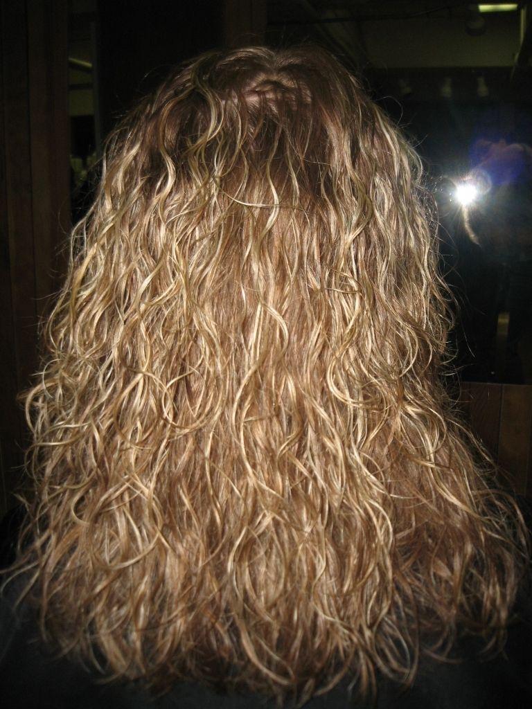 Dauerwelle fur langes feines haar