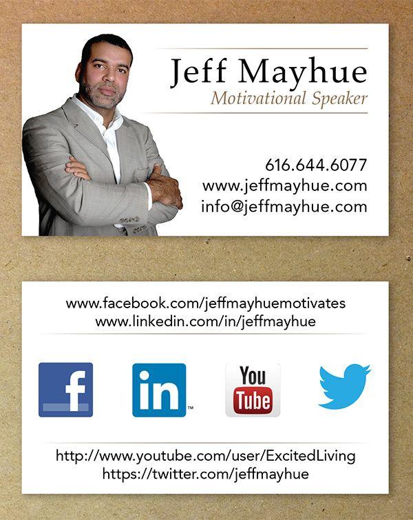 Motivational Speaker Business Card Google Search Google Business Card Motivational Speaker Business Card Logo