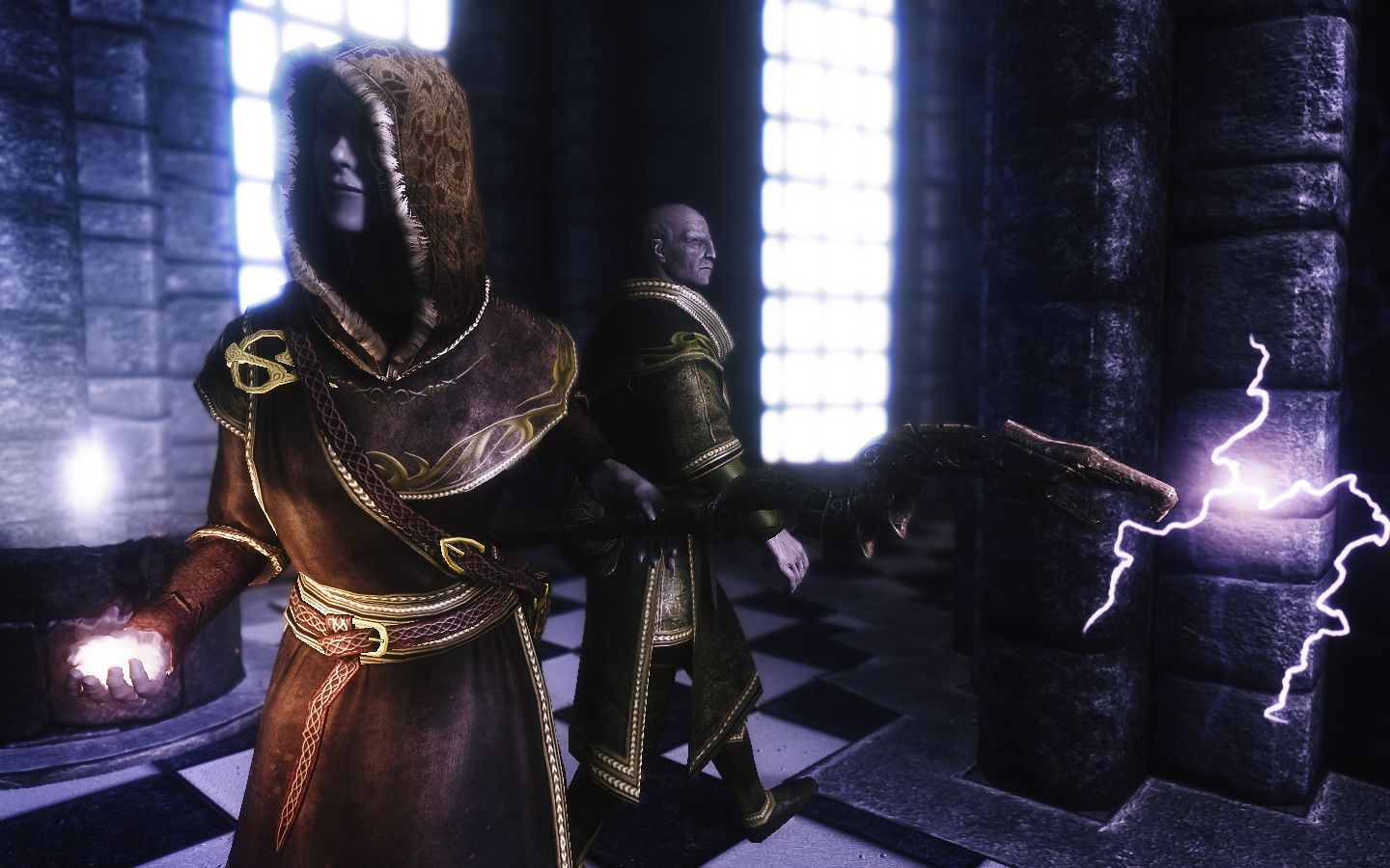 Opulent Outfits - Mage Robes of Winterhold v6 at Skyrim Nexus