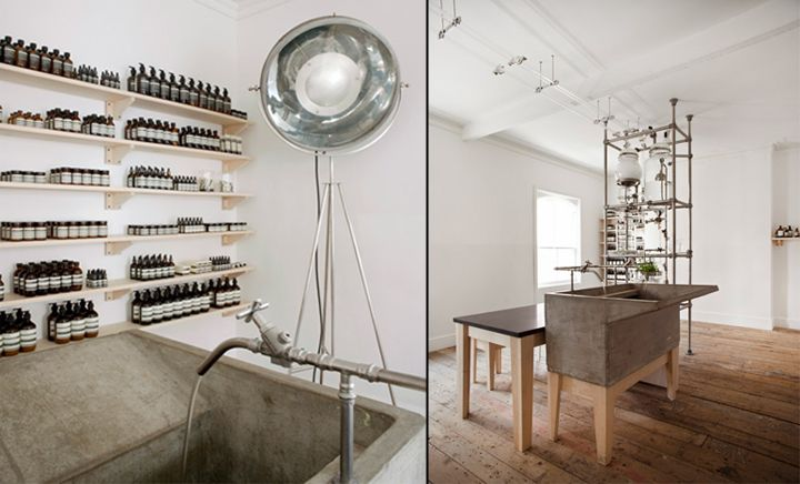 Aesop Rough Trade Nottingham – UK Ciguë worked with Aesop\'s in-house ...
