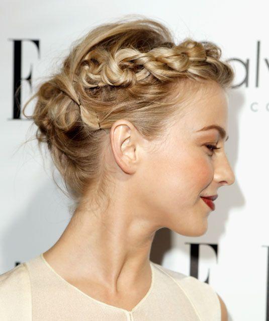 Cool Ways To Wear A Heidi Braid You Ve Rock And Milkmaid Braid - Diy hairstyle knotted milkmaid braid