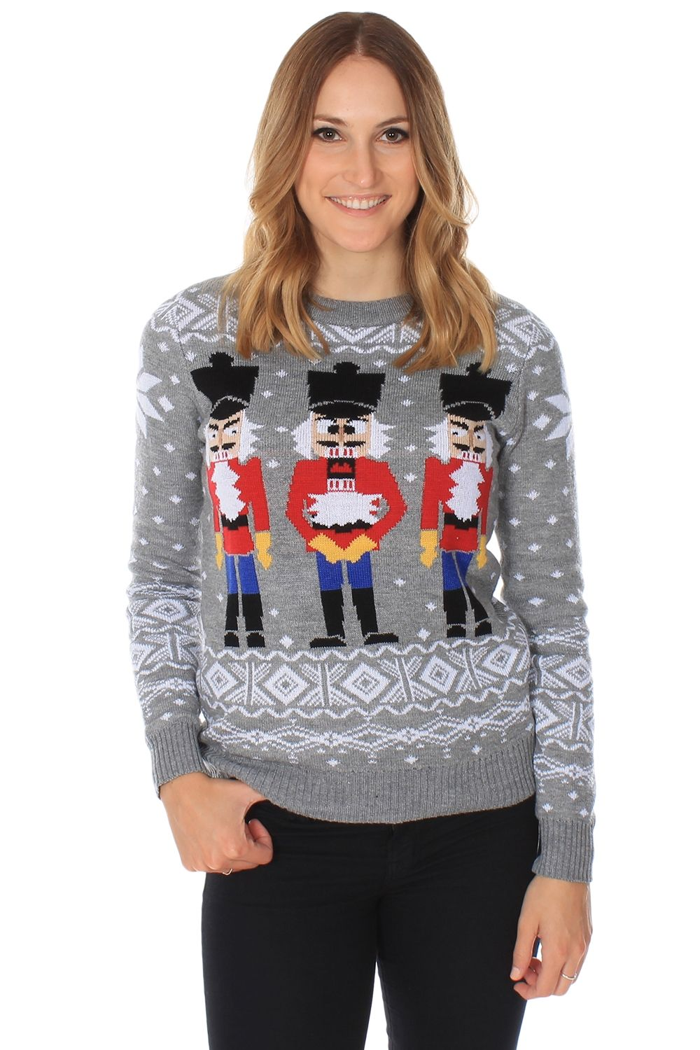 Women's Nutcracker Sweater | Christmas sweaters, Tacky