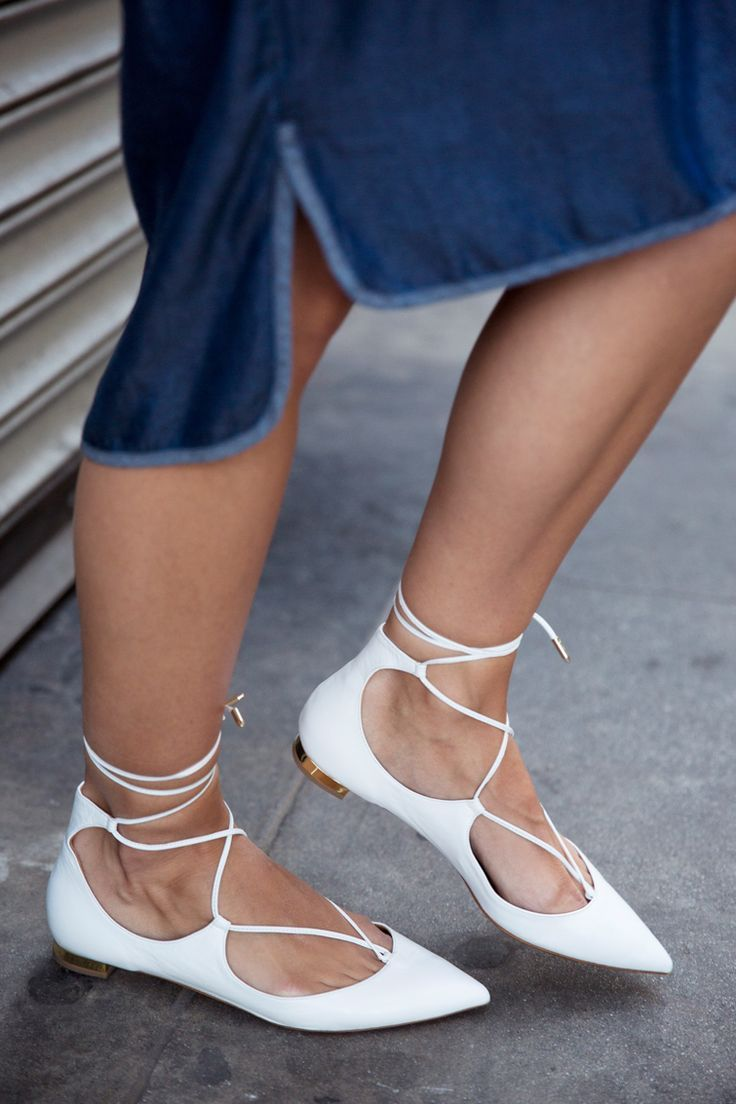 Aquazurra Lace Up flats | Damsel in Dior | Mexico Bound #sexyshoes