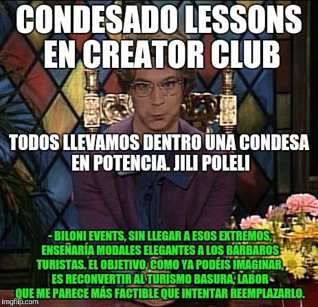 Antroom - Club A: Condesado Lessons