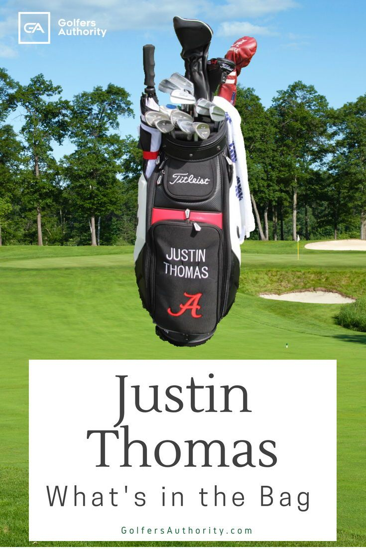 Justin Thomas WITB? (What's in the Bag) (With images