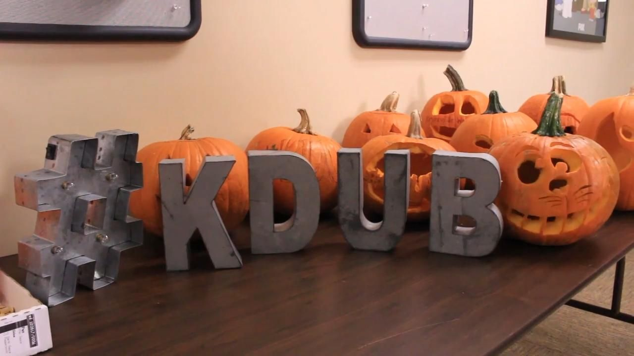 Kdub Pumpkin Carving National Pumpkin Day Pumpkin Carving Carving Halloween Office