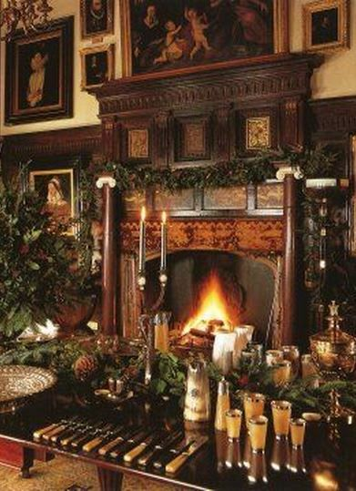 German House Designs: English Country House Christmas WHERE IS THIS VERSION OF