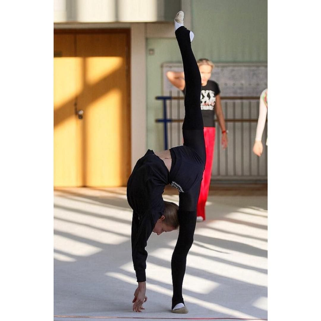"""*~  the """". h .""""  ~ High level Gymnasts that Practice 4 1/2 hours a Day. ~*** *"""