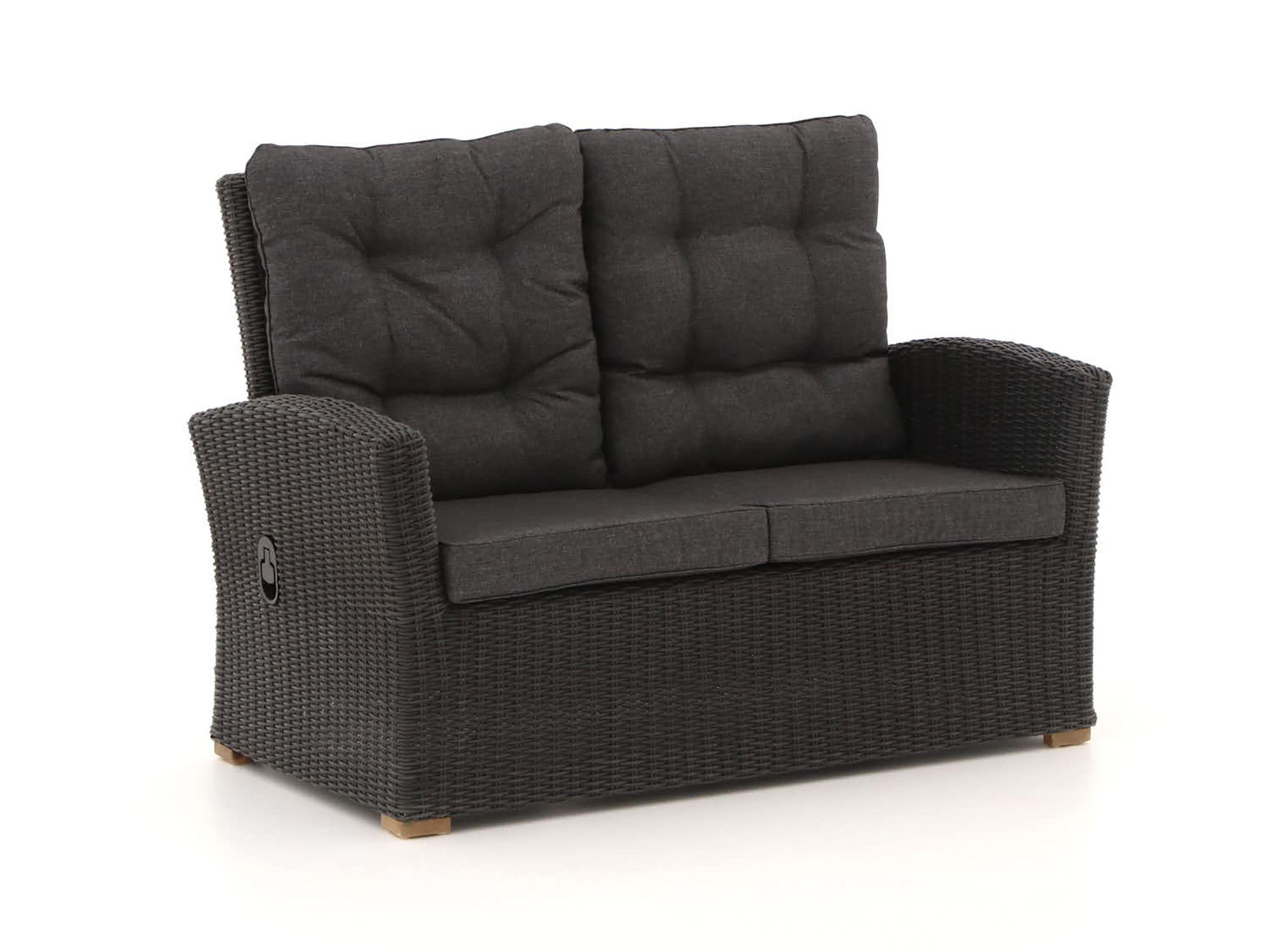Lounge Bankje 2 Zits.Intenso Mazzano Lounge Tuinbank 2 Zits 135cm Verstelbaar Lounge