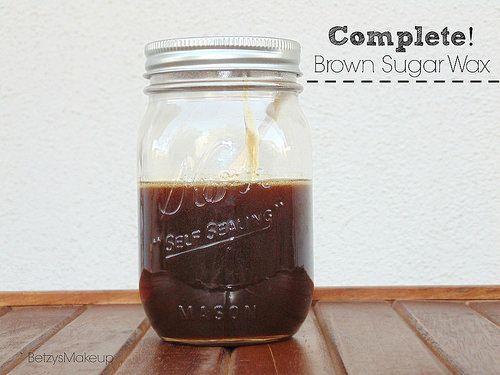 diy-brown-sugar-wax