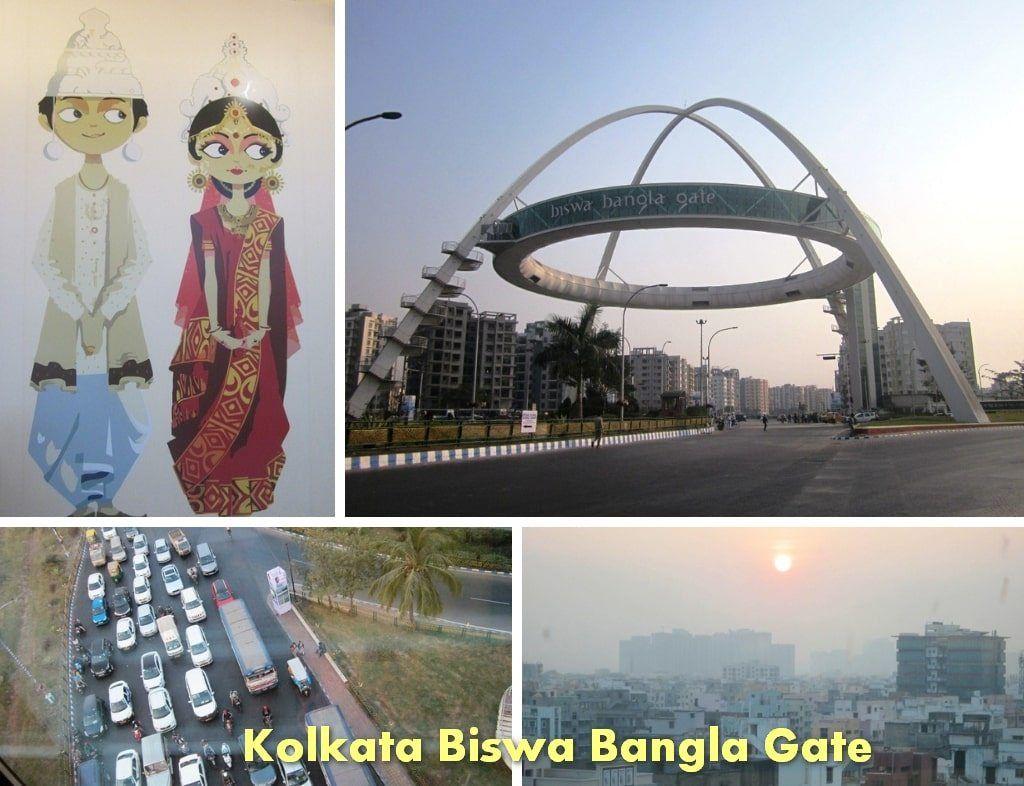 Biswa Bangla gate New town New town, Kolkata, Tourism