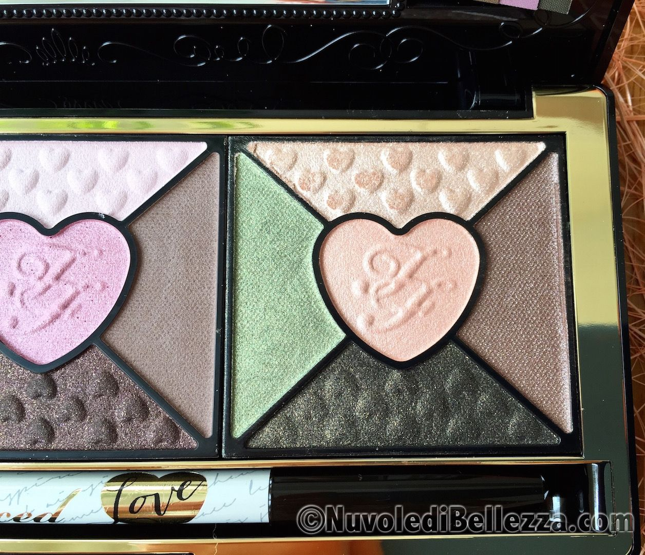 Love Eye Shadow Collection di Too Faced Recensione - Nuvole di Bellezza