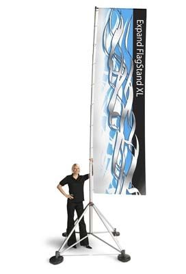 Super Cool Outdoor Flag Advertising Flag Looks Like It S Made For The Moon Outdoor Banner Stands Banner Stands Outdoor Banners