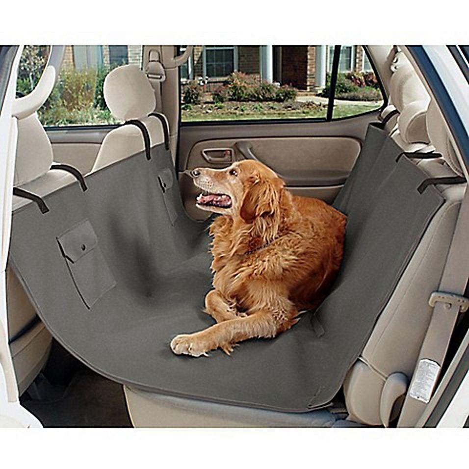Waterproof Pet Hammock Seat Cover For Dogs Grey Pet Hammock Dog