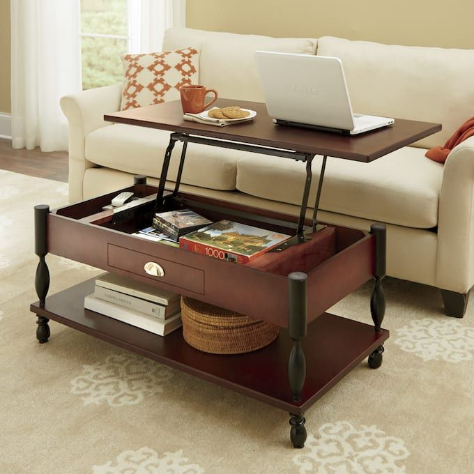 ellington lifttop coffee table and end table  living