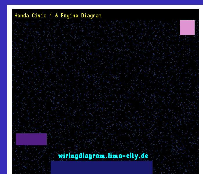 Honda Civic 1 6 Engine Diagram  Wiring Diagram 175957