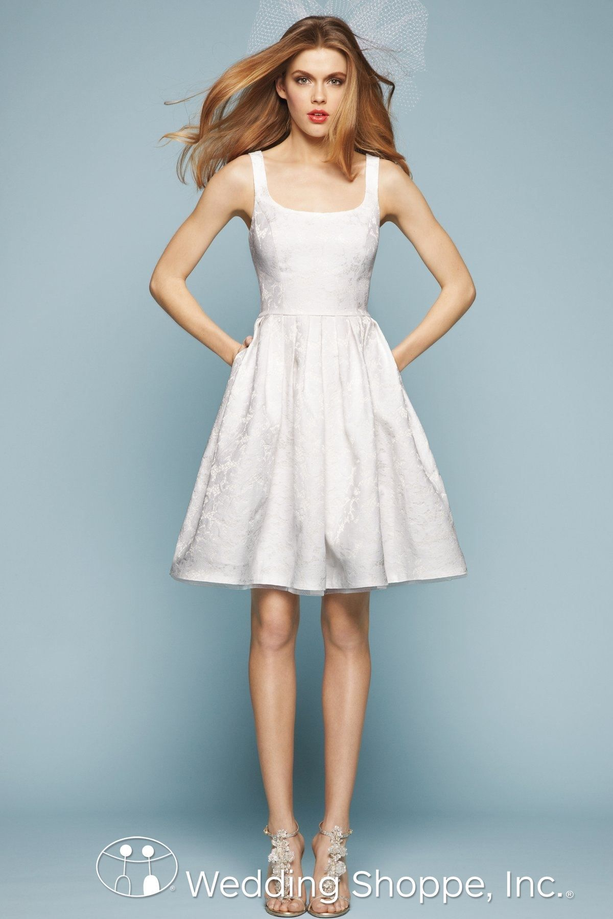 Encore by Watters Bridal Gown Alder / 4333E | Short and Sweet ...