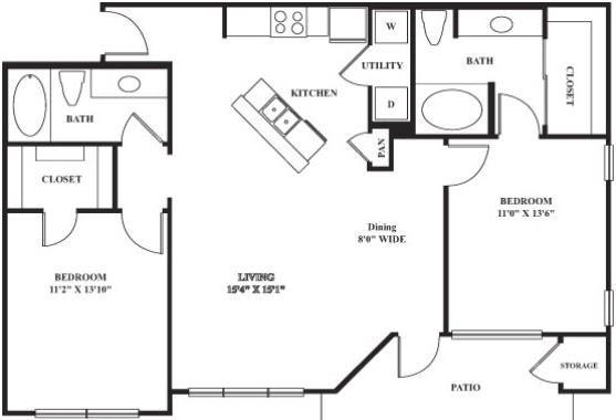 Planos de casa peque a con cocina abierta buscar con for Planos para cocinas pequenas