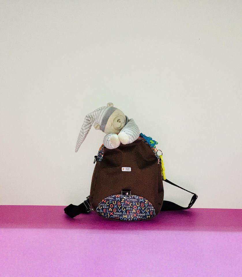 Sac Limbo cousu par l'Atelier Créatif de Marina - Patron sac à dos transformable Sacôtin