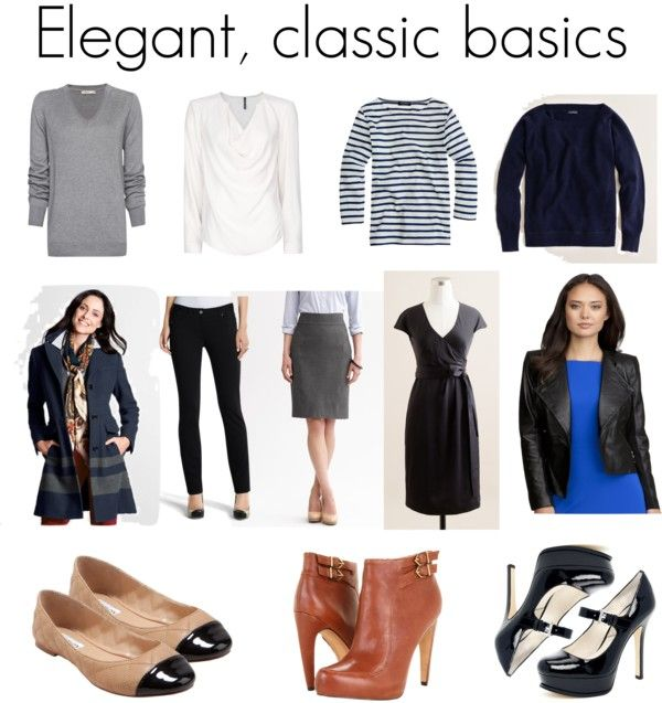 Elegant Basics For French Style In Your Wardrobe Work