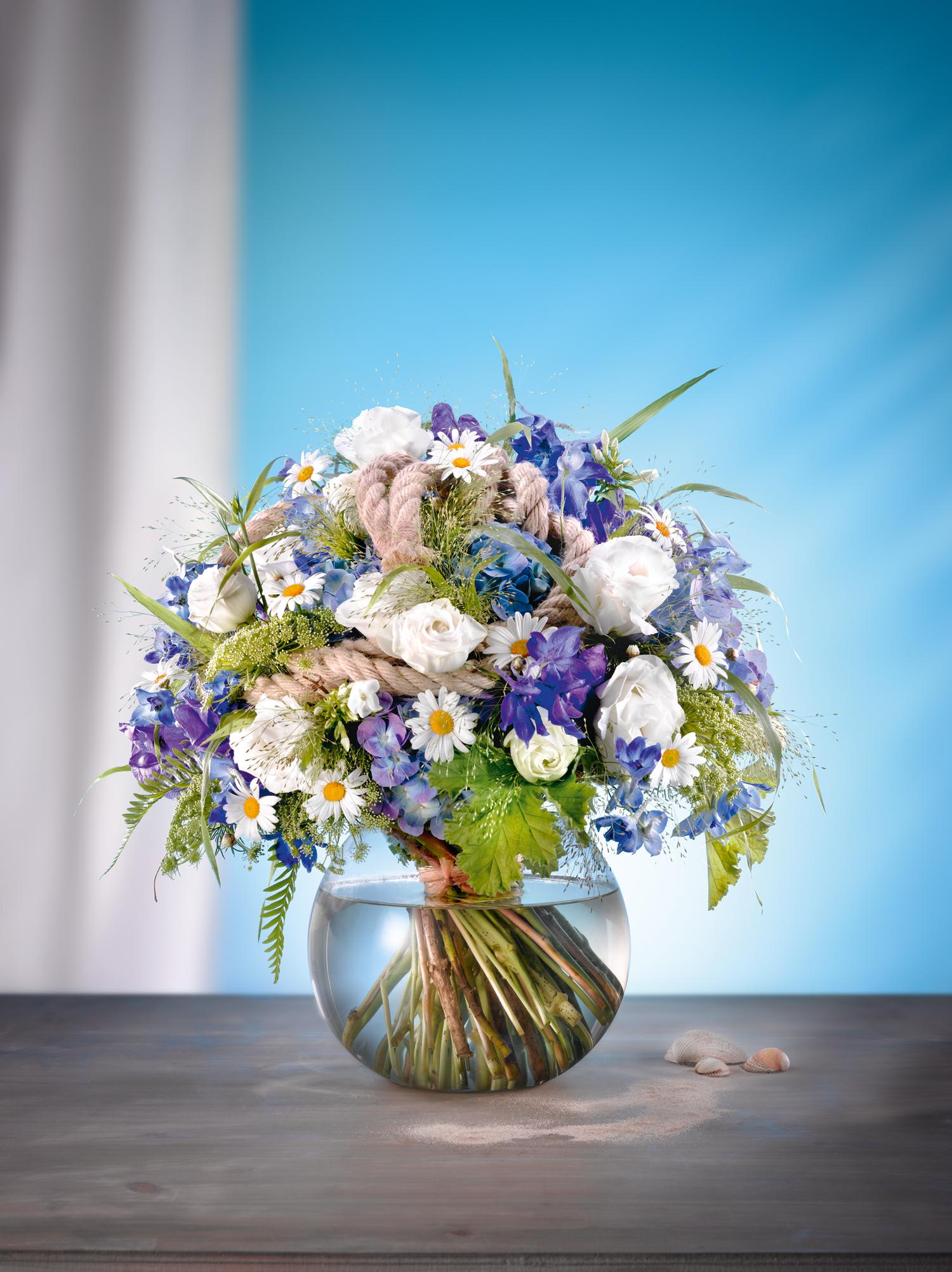 Unser Lieblingswerkstück im August: Blumenstrauß \