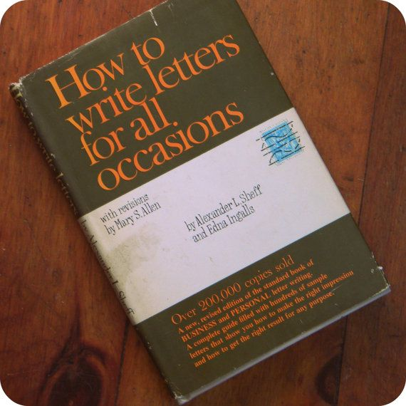 How to write letters for all occasions by alexander sheff and edna how to write letters for all occasions by alexander sheff and edna ingalls by thetriumphoflove expocarfo Image collections