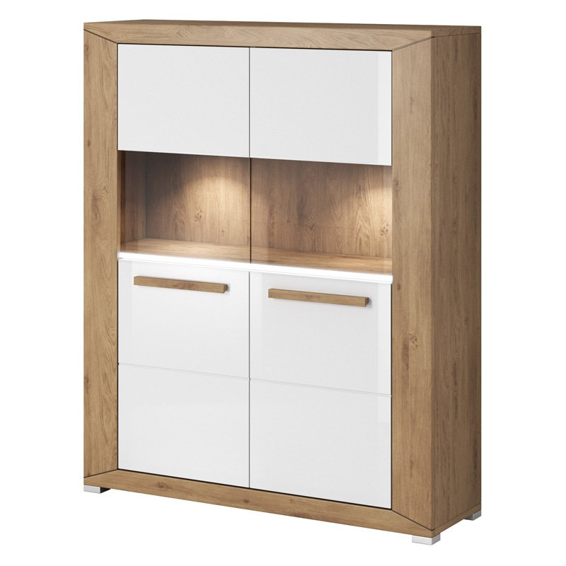 Helvetia Lumi Dishes Cabinet Dish Cabinet Cabinet Dining Furniture