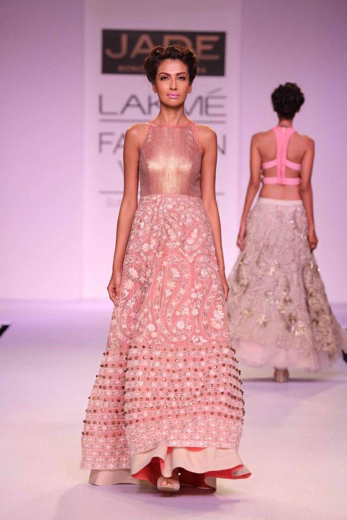 JADE by Monica & Karishma at #LakmeFashionWeek | South Asian Fashion ...