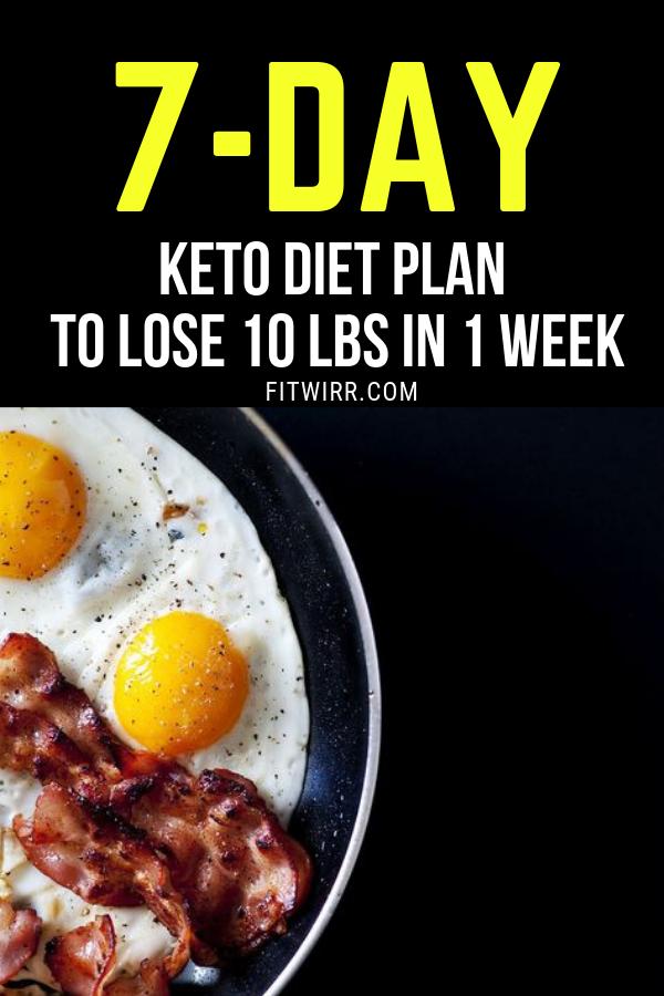Keto Diet Menu: 7-Day Keto Meal Plan for Beginners