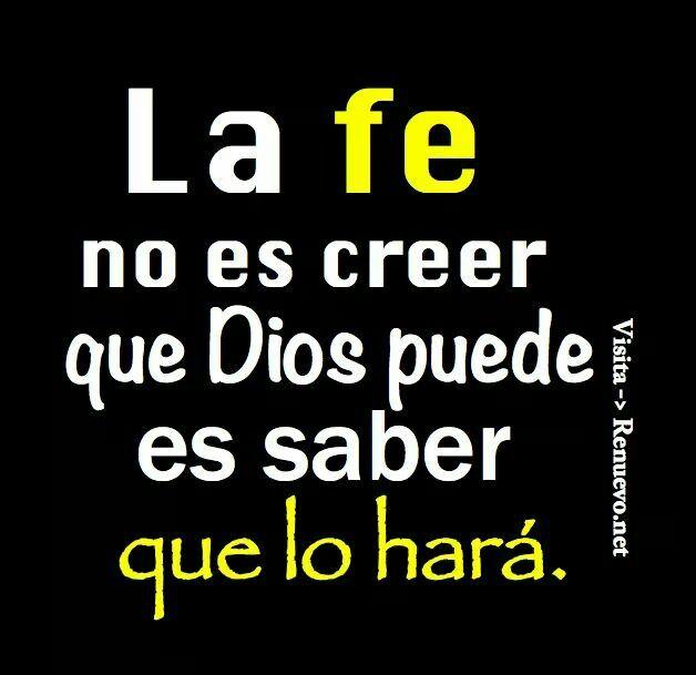 La fe