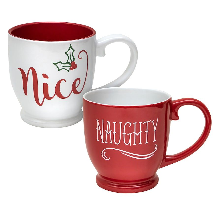 Maison Naughty Nice Mug SetProducts Mugs Holiday Belle Cool qMzpSUVG
