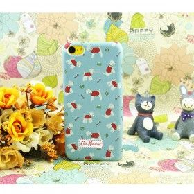 Cath Kidston Mini Stanley iPhone Case for iPhone 5C - Blue